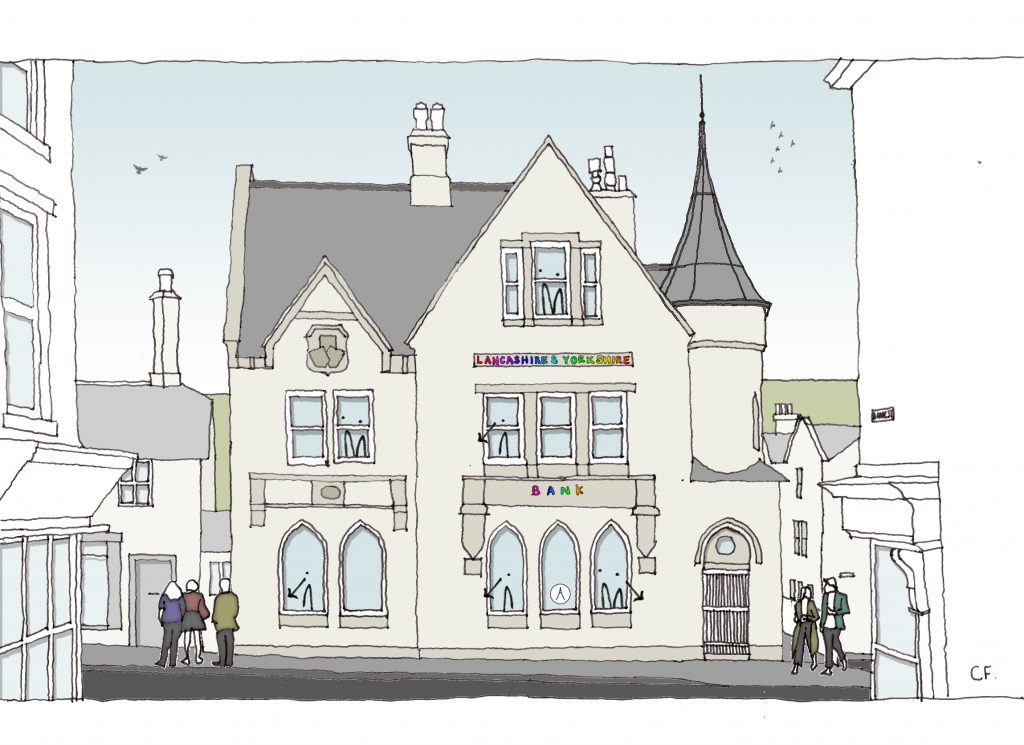 Artists Impression of the Exterior of Alliance @ the L&Y