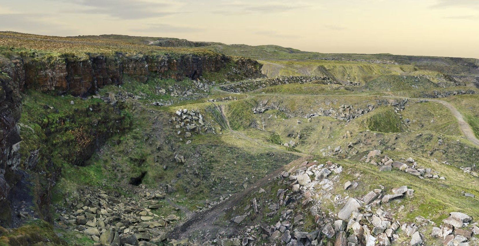 lee quarry rossendale quarry workings heritage valley of stone