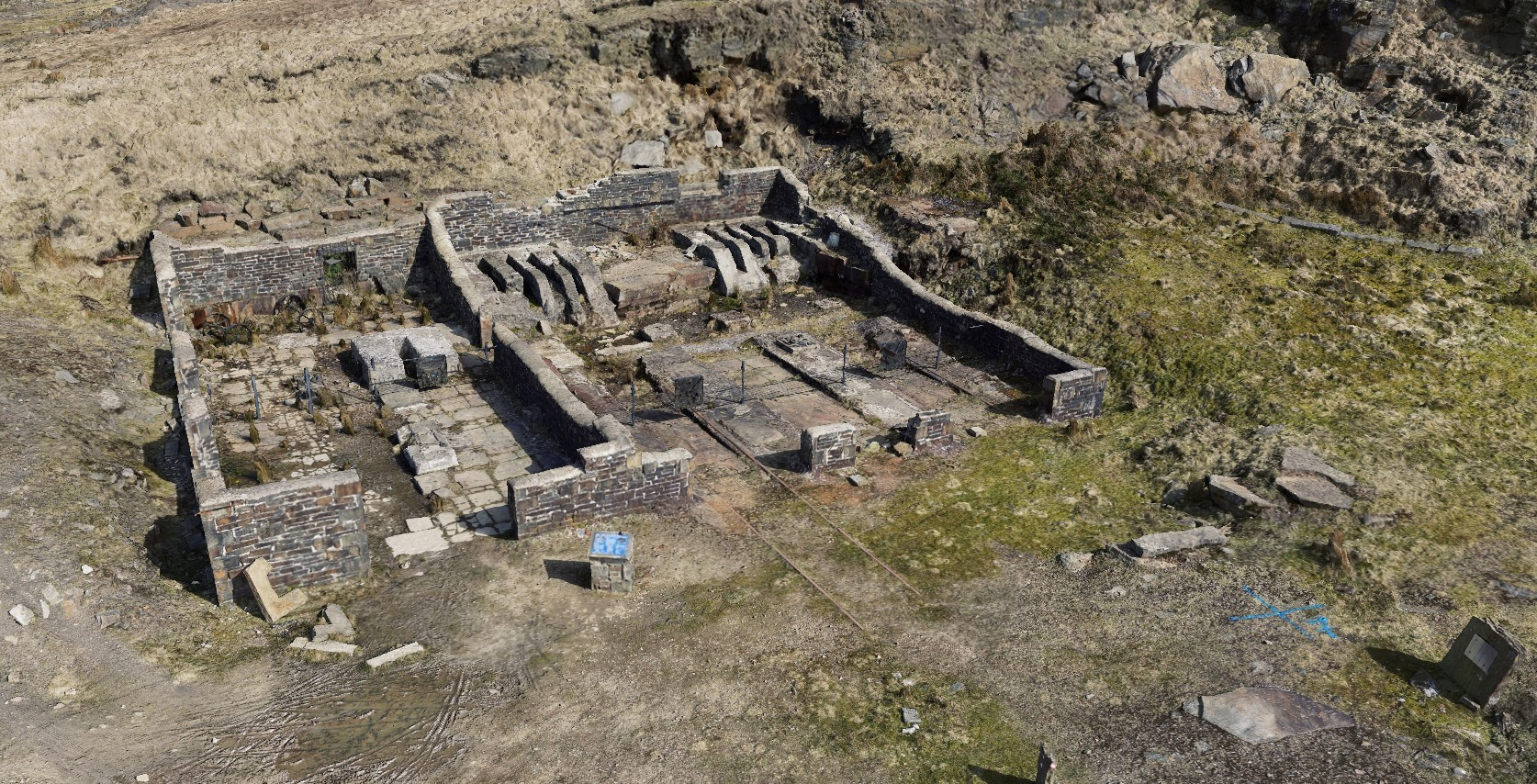 lee quarry rossendale quarry saw sheds heritage valley of stone